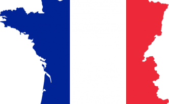 Francia cartina